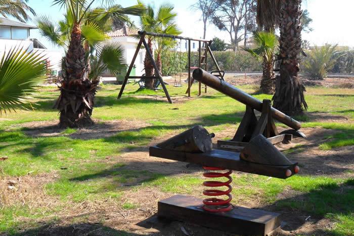 Camping Malvarrosa de Corinto Aire de jeux