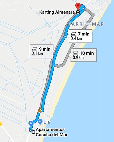 Route Karting Almenara